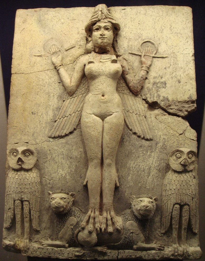 Statue of a Mesopotamian goddess
