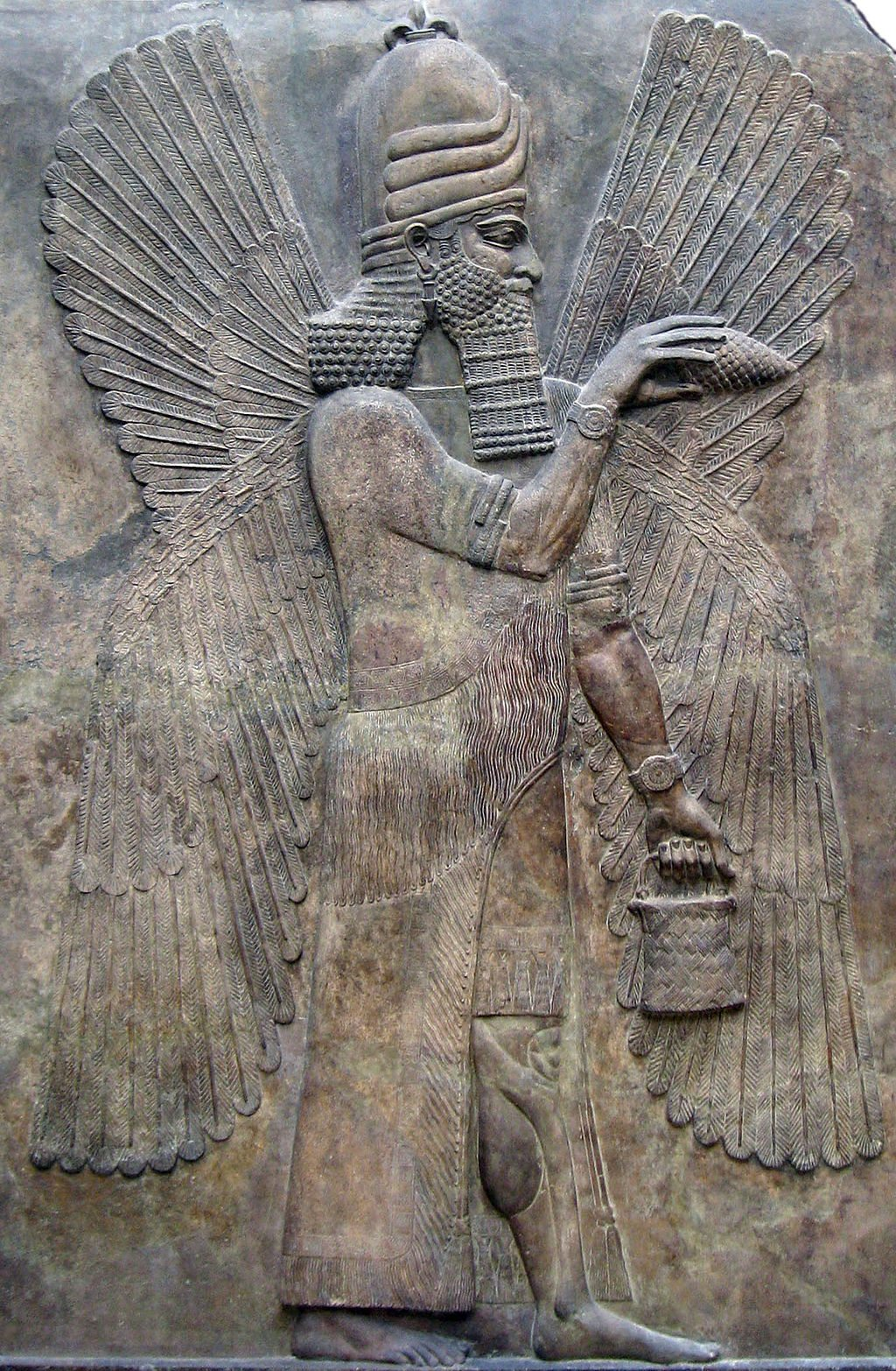 Marduk, high god of the Babylonians