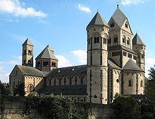The Romanesque Church of Maria Lach, Germany