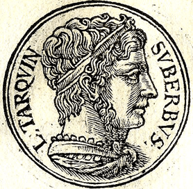 Tarquinius Superbus was the seventh King of Rome, reigning from 535 until the Roman revolt in 509 B.C