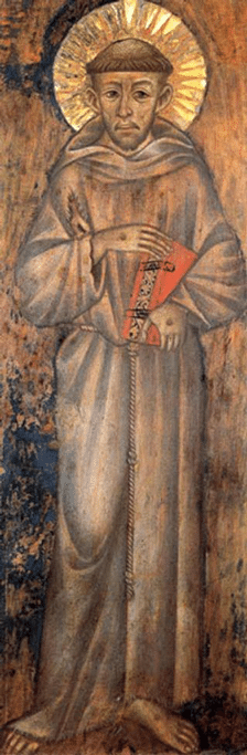 Francis of Assissi by Cimabue
