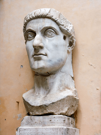 Marble Head of Constantine the Great