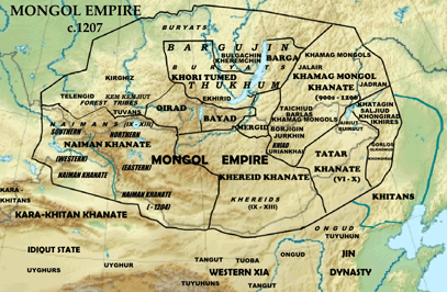 The Mongol Empire on
