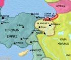 Map of Turkey at 1453CE