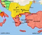 Map of Greece and the Balkans at 979CE