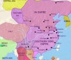 Map of China at 1215CE