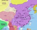 Map of China at 1648CE