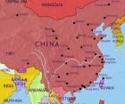 Map of China at 2005CE