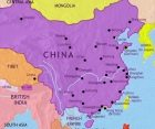 Map of China at 1914CE