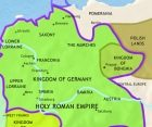 Map of Germany at 979CE