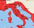 Map of Italy at 30BCE