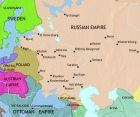 Map of Russia at 1789CE