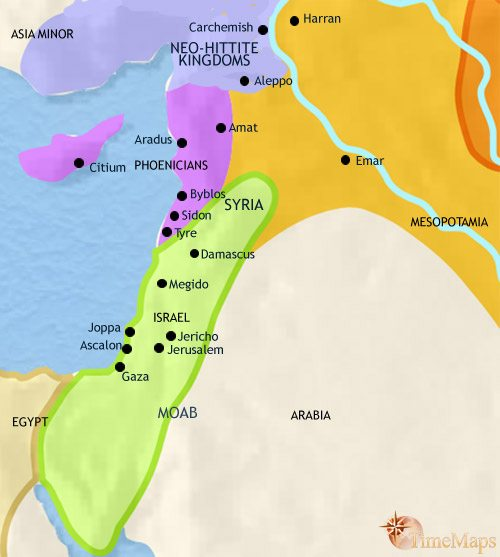 Map Of Syria At BC TimeMaps - Map of egypt and syria