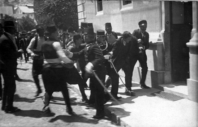 Gavrilo Princip-Captured in-Sarajevo