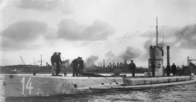 Geman-U-boat-U-14