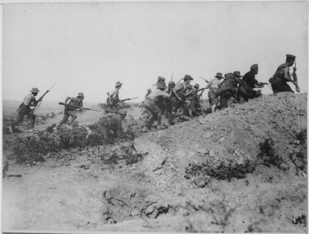 Australian-Troops-Charging